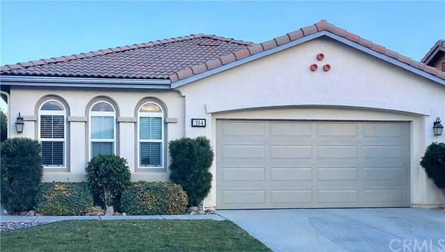 314 Shining Rock, Beaumont, CA 92223 (#EV19014619) :: Allison James Estates and Homes