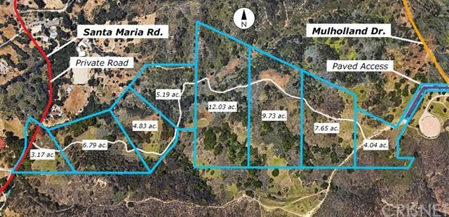 0 Santa Maria & Mulholland, Topanga, CA  (#SR19017551) :: California Realty Experts