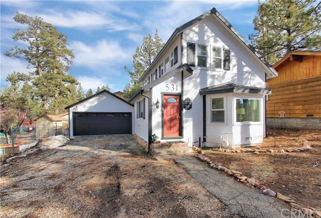 531 Waynoka Lane, Big Bear, CA 92315 (#EV19023414) :: RE/MAX Innovations -The Wilson Group