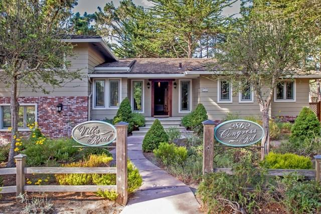 2862 Congress Road, Pebble Beach, CA 93953 (#ML81737560) :: Pismo Beach Homes Team