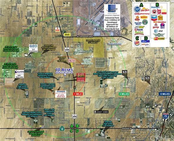 0 Holly Road, Adelanto, CA 92301 (#OC19030562) :: The Laffins Real Estate Team