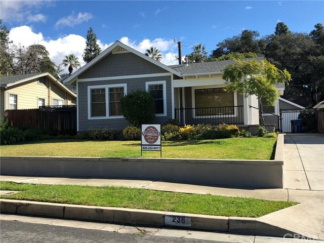 236 May Avenue, Monrovia, CA 91016 (#AR19031181) :: Team Tami