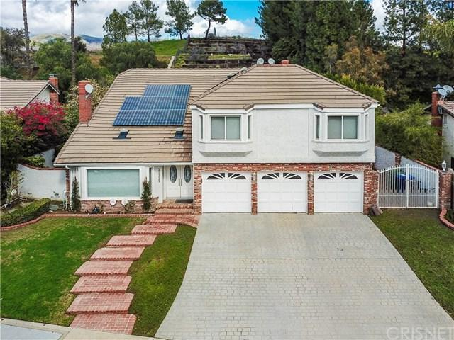 21325 Candice Place, Chatsworth, CA 91311 (#SR19031967) :: The Laffins Real Estate Team