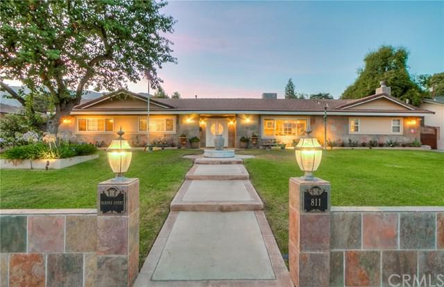 811 E Sierra Madre Avenue, Glendora, CA 91741 (#CV19032496) :: The Ashley Cooper Team