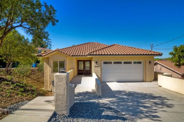 2278 Johns View Way, Spring Valley, CA 91977 (#190008124) :: The Laffins Real Estate Team