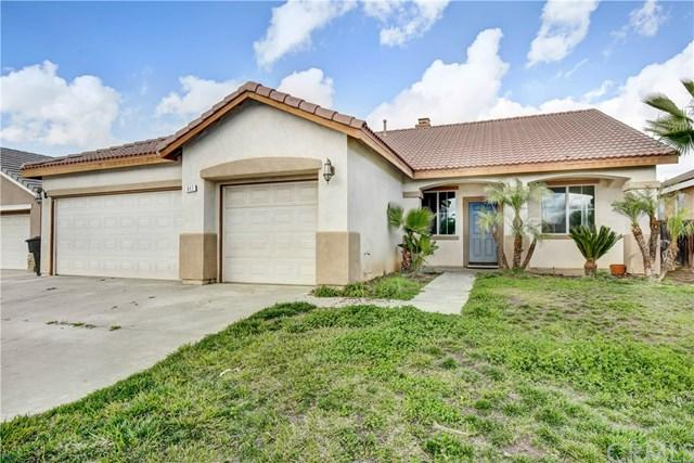 842 Sheffield Way, Perris, CA 92571 (#IV19031949) :: The Laffins Real Estate Team