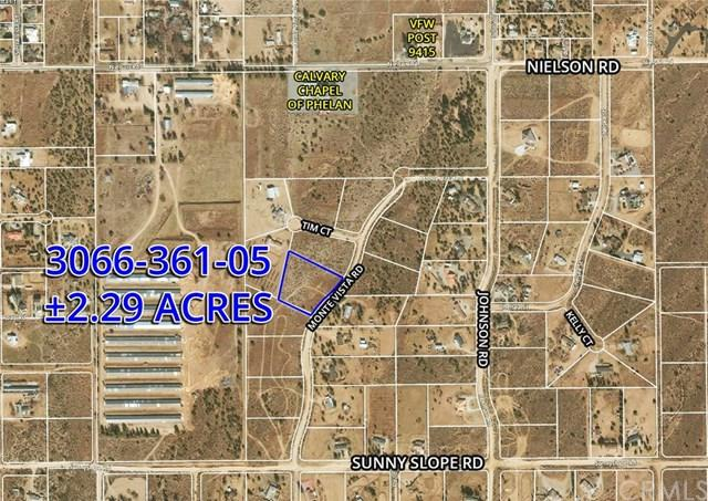 6 Monte Vista Rd, Phelan, CA 94563 (#OC19033764) :: Z Team OC Real Estate