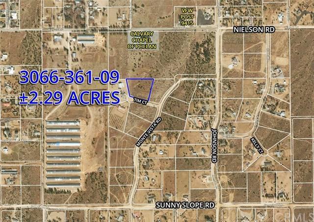 7 Tim Ct, Phelan, CA  (#OC19033914) :: Z Team OC Real Estate