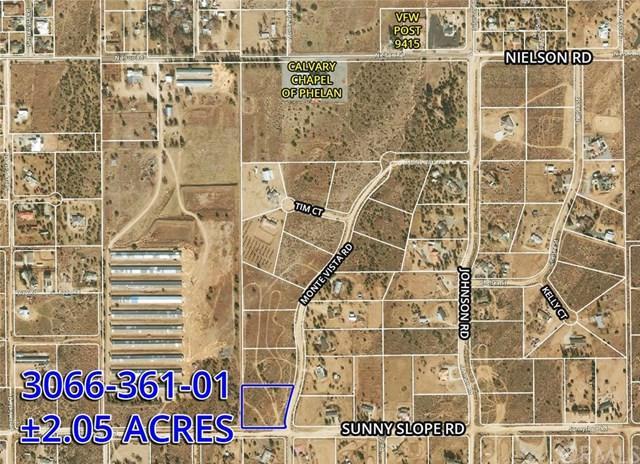 9 Sunny Slope Rd, Phelan, CA  (#OC19033967) :: Z Team OC Real Estate