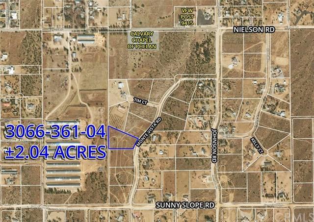 10 Monte Vista Rd, Phelan, CA 85004 (#OC19033987) :: Z Team OC Real Estate