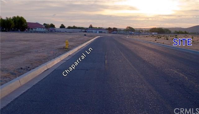 0 Chaparral Lane, Helendale, CA 92342 (#OC19035160) :: The Laffins Real Estate Team