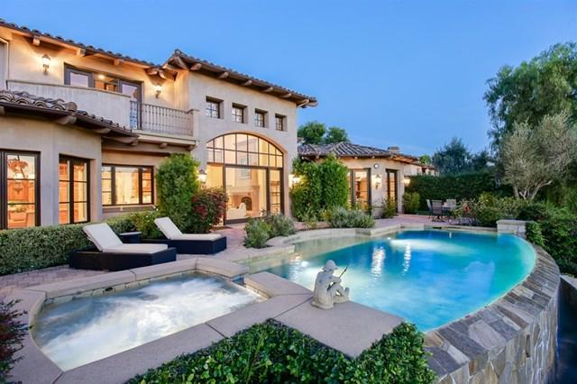 18384 Calle La Serra, Rancho Santa Fe, CA 92091 (#190008762) :: The Laffins Real Estate Team