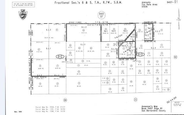0 Desert Flower Road, Adelanto, CA 92301 (#PW19036724) :: Z Team OC Real Estate