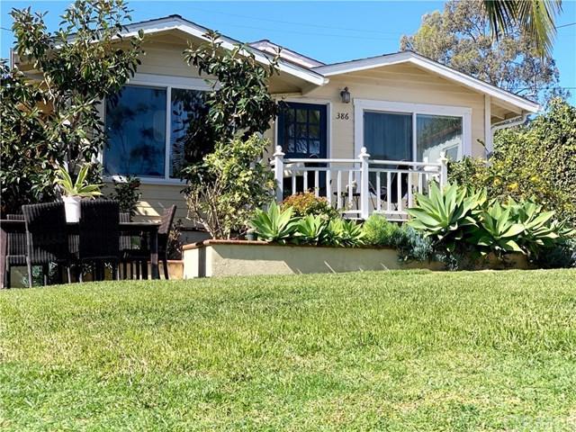386 Holly Street, Laguna Beach, CA 92651 (#LG19038730) :: The Danae Aballi Team