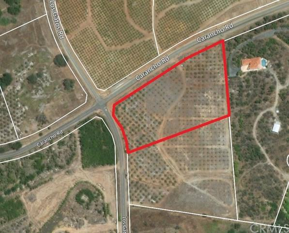 0 Carancho  Raod, Temecula, CA 92590 (#SW19055689) :: Realty ONE Group Empire