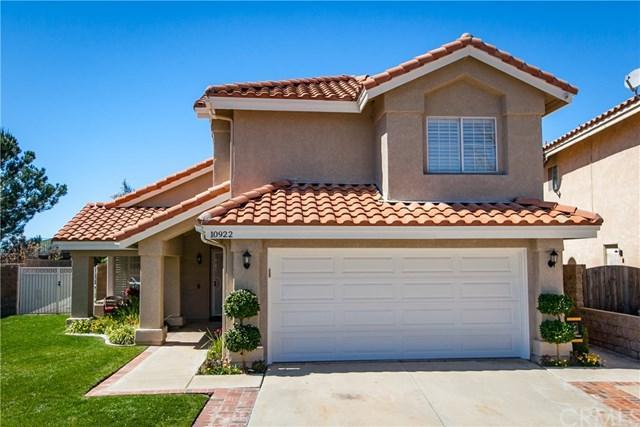 10922 Golden Hills Drive, Yucaipa, CA 92399 (#EV19058085) :: Angelique Koster