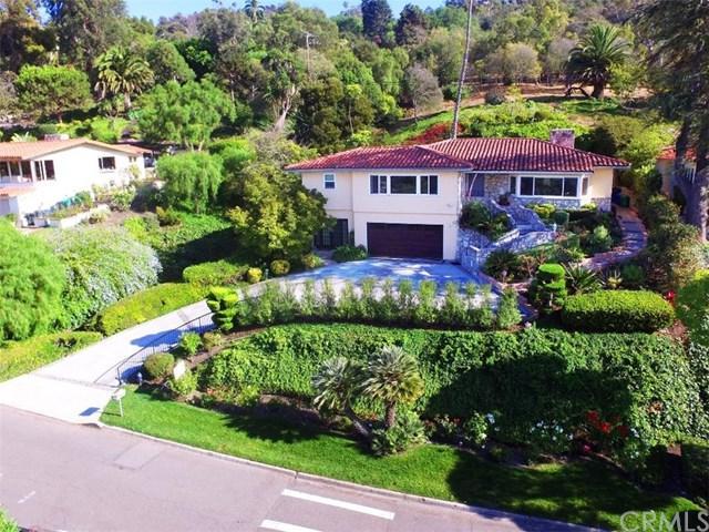 2416 Via Ramon, Palos Verdes Estates, CA 90274 (#PW19059442) :: Naylor Properties