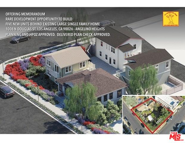 1008 Douglas Street, Los Angeles (City), CA 90026 (#19433502) :: The Laffins Real Estate Team