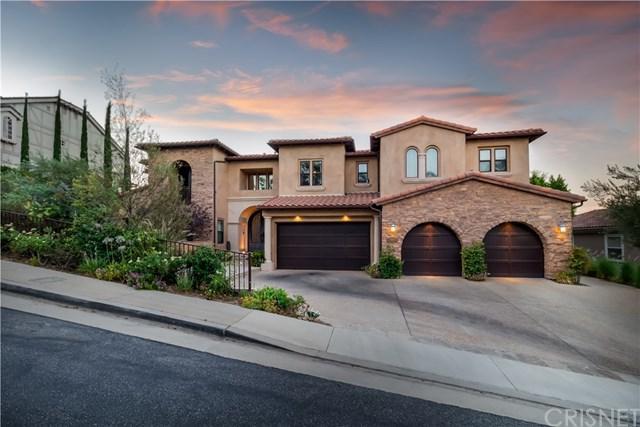 22401 S Summit Ridge Circle, Chatsworth, CA 91311 (#SR19060060) :: Go Gabby
