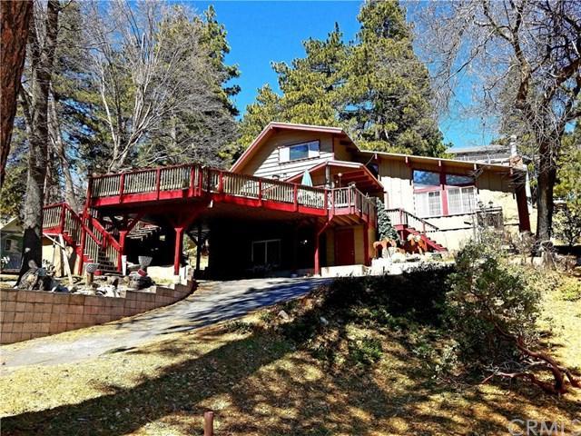 30675 Ferndale Drive, Running Springs Area, CA 92382 (#EV19060160) :: The Laffins Real Estate Team