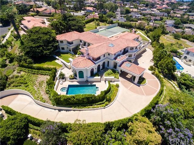 2228 Via Cerritos, Palos Verdes Estates, CA 90274 (#SB19060195) :: Fred Sed Group