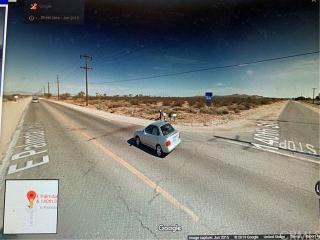 0 Corner E. Palmdale Blvd /140Th St, Sun Village, CA 93543 (#PW19062880) :: Kim Meeker Realty Group