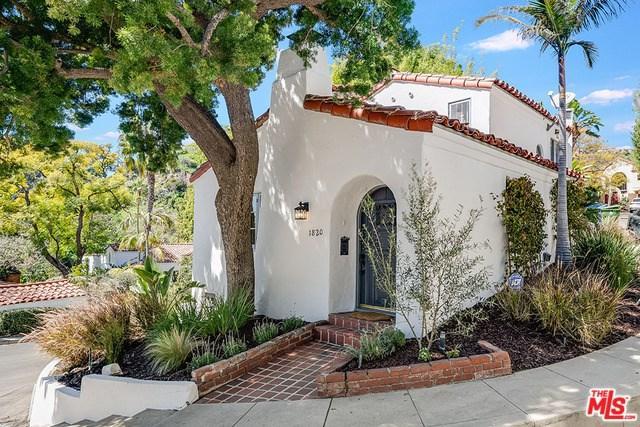1820 Courtney Terrace, Los Angeles (City), CA 90046 (#19445402) :: Mainstreet Realtors®