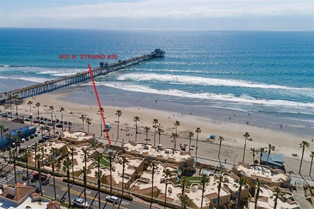 400 Strand #35, Oceanside, CA 92054 (#190015353) :: Hometown Veterans