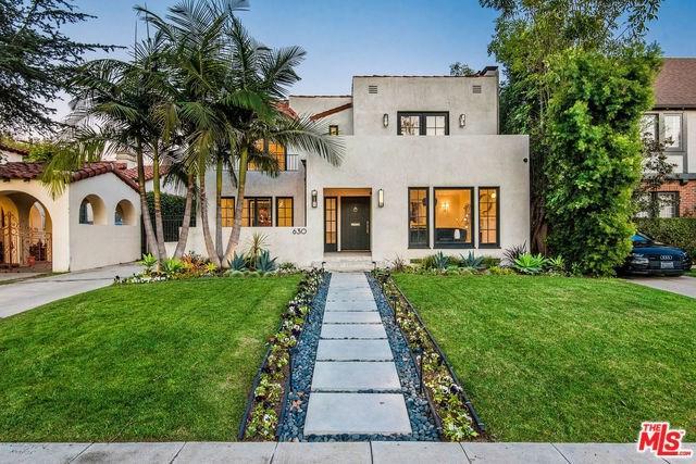 630 N Las Palmas Avenue, Los Angeles (City), CA 90004 (#19446892) :: J1 Realty Group