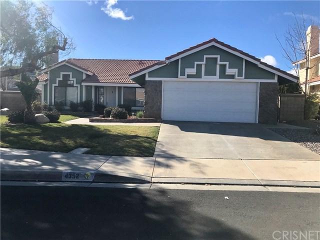 4352 Cocina Lane, Palmdale, CA 93551 (#SR19053285) :: Millman Team