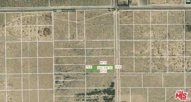 0 Vac/100 Stw Drt /Vic Ave, Lancaster, CA 93536 (#19450266) :: Fred Sed Group