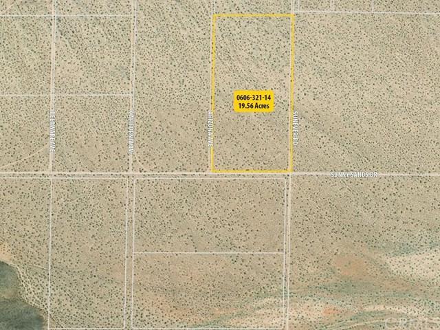 0 Sunny Sands Drive, Joshua Tree, CA 92252 (#OC19078147) :: Steele Canyon Realty