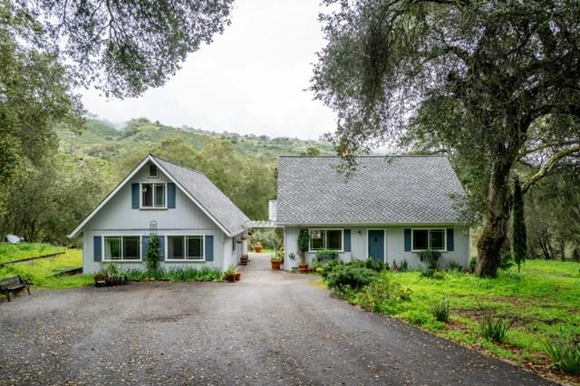 17400 Cachagua Road, Carmel Valley, CA 93924 (#ML81746462) :: McLain Properties