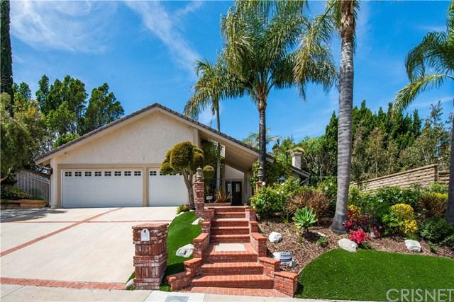 12153 Mission Ridge Way, Granada Hills, CA 91344 (#SR19076680) :: eXp Realty of California Inc.