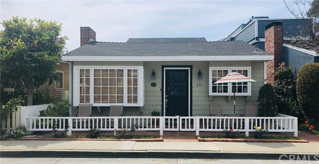 219 Abalone Avenue, Newport Beach, CA 92662 (#OC19085897) :: The Danae Aballi Team
