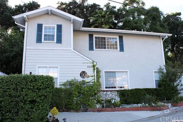 505 Sinclair Avenue, Glendale, CA 91206 (#319001632) :: The Brad Korb Real Estate Group