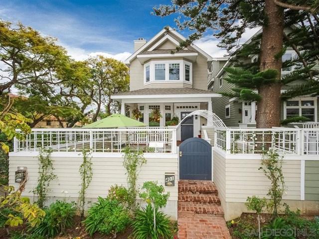 401 E Avenue, Coronado, CA 92118 (#190022275) :: McKee Real Estate Group Powered By Realty Masters & Associates