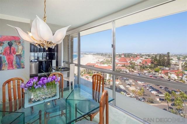 1720 Avenida Del Mundo Penthouse 1608, Coronado, CA 92118 (#190023479) :: Fred Sed Group