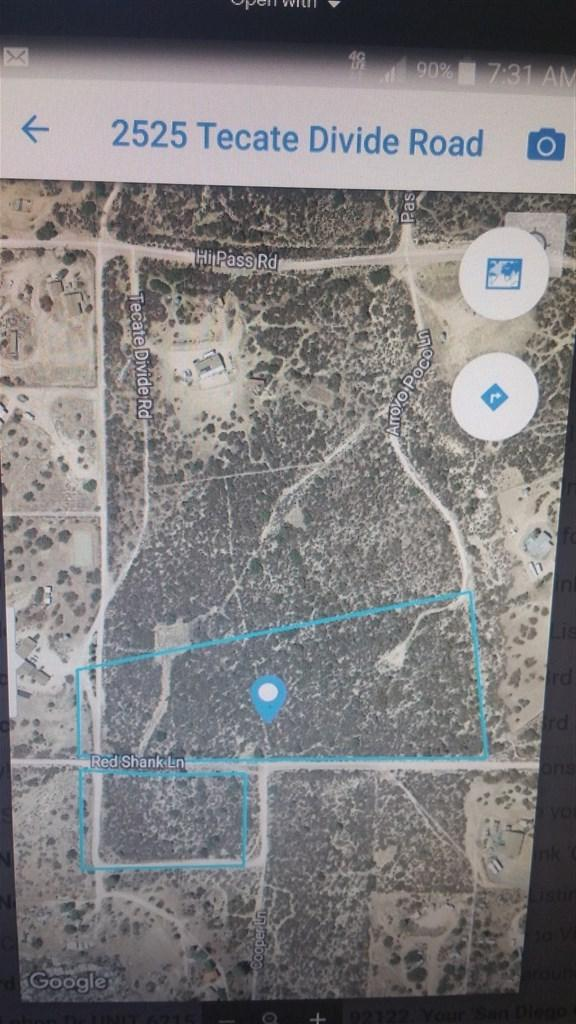 2525 Tecate Divide, Boulevard, CA 91905 (#190024660) :: Fred Sed Group