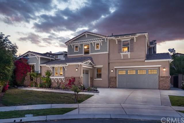 8092 Sunset Rose Drive, Corona, CA 92883 (#IG19110980) :: Fred Sed Group