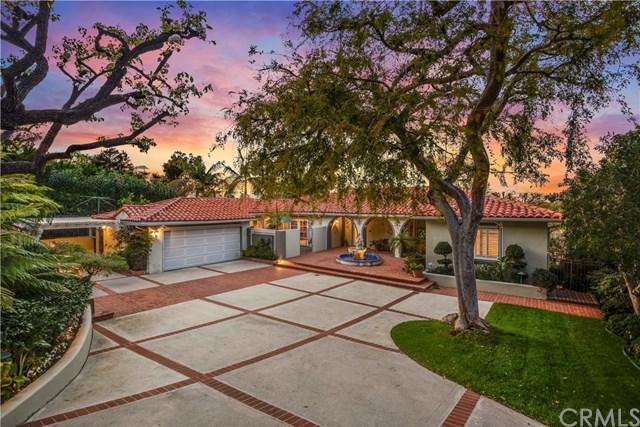 2717 Via Elevado, Palos Verdes Estates, CA 90274 (#PV19111122) :: Fred Sed Group