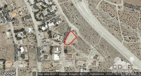 Desert View And Ocotillo Rd, Whitewater, CA 92282 (#219013545DA) :: Sperry Residential Group