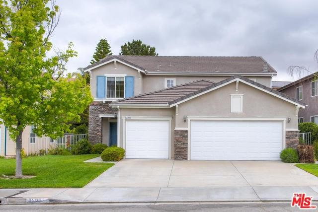 26013 Ohara Lane, Stevenson Ranch, CA 91381 (#19465988) :: Go Gabby