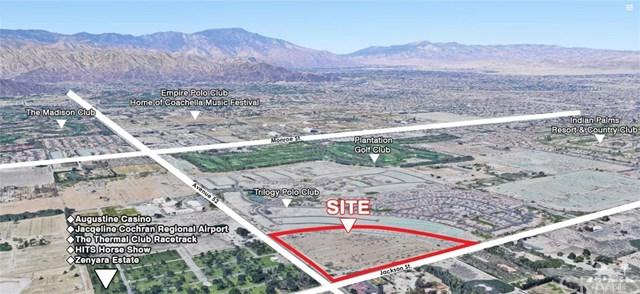 0 Jackson St & Ave 52, Indio, CA 92201 (#219014117DA) :: The Costantino Group | Cal American Homes and Realty