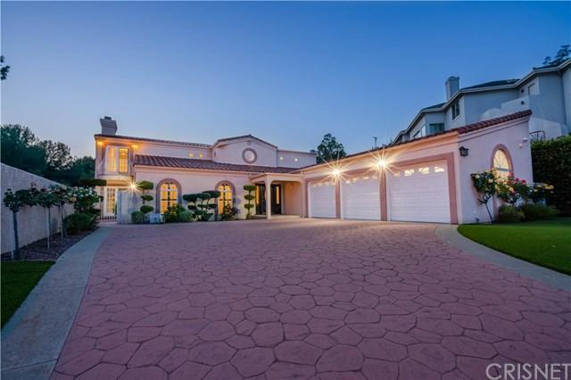 11594 Rancho Del Valle, Granada Hills, CA 91344 (#SR19113719) :: Keller Williams Temecula / Riverside / Norco