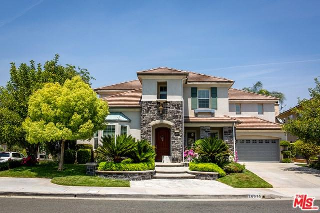 26015 Shadow Rock Lane, Valencia, CA 91381 (#19466018) :: Fred Sed Group