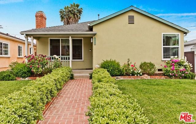2922 Castle Heights Avenue, Los Angeles (City), CA 90034 (#19467550) :: PLG Estates