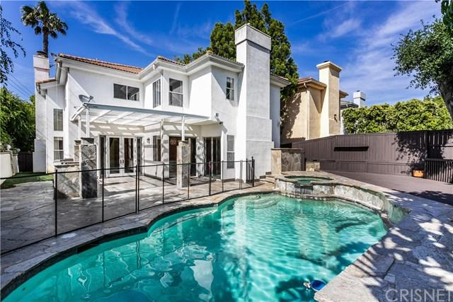 16648 Oak View Court, Encino, CA 91436 (#SR19116588) :: Fred Sed Group