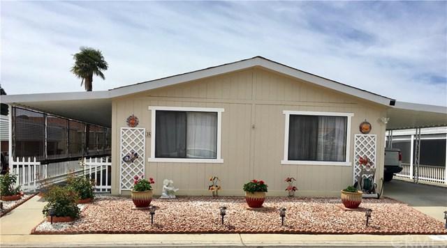 1250 N Kirby Street #16, Hemet, CA 92545 (#SW19116650) :: Allison James Estates and Homes
