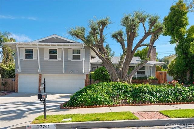 22741 Mulholland Drive, Woodland Hills, CA 91364 (#SR19115028) :: Fred Sed Group